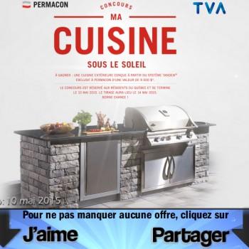 tva permacon jpg1 350x350 - Concours TVA et Permacon: Gagnez une cuisine extérieure (valeur de 9500$)