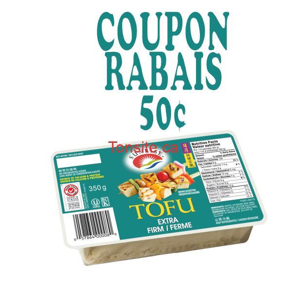 Rabais et coupons