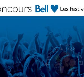 bell canada 350x320 - Gagnez une expérience VIP aux FrancoFolies, au Festival International de Jazz de Montréal ou au Festival d'été de Québec grâce à Bell!