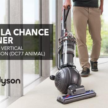 bestbuy1 350x350 - Concours Best Buy: Gagnez un aspirateur vertical Cinetic de Dyson (DC77 ANIMAL)