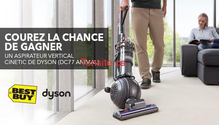 bestbuy1 - Concours Best Buy: Gagnez un aspirateur vertical Cinetic de Dyson (DC77 ANIMAL)
