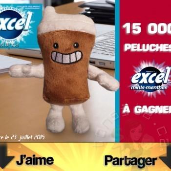 excel peluches concours 350x350 - Concours Excel: Gagnez 1 des 15 000 peluches Excel