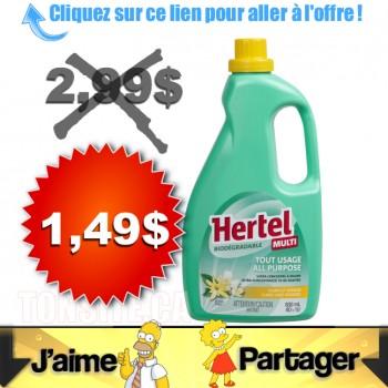 hertel 149 350x350 - Nettoyant Hertel à 1,49 au lieu de 2,98$ (sans coupon)