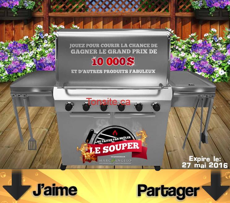 marc angelo concours - Concours Marc Angelo Foods: Gagnez 10 000$ et plusieurs prix instantanés