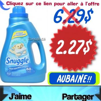snuggle 2.27 350x350 - Assouplissant textile Snuggle à 2.27$ au lieu de 6.29$