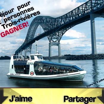 trois rivieres concours 350x350 - Concours Tourisme Trois-Rivières: Gagnez un séjour pour 2 à Trois-Rivières