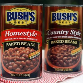 BURSHS 350x350 - Coupon rabais de 1$ sur les produits Fèves BUSH'S au choix.