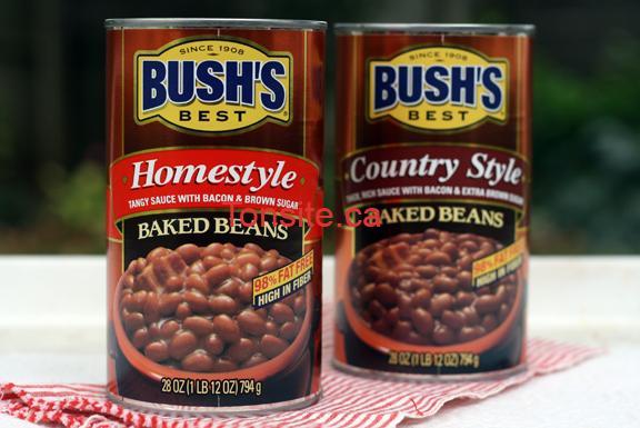 BURSHS - Coupon rabais de 1$ sur les produits Fèves BUSH'S au choix.
