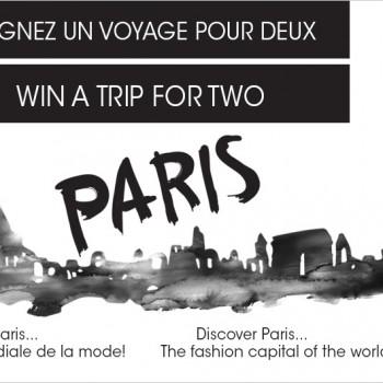 bouclair concours 350x350 - Concours Bouclair: Gagnez un voyage pour 2 personnes à Paris