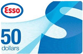 esso 50 - Concours Royal Draw: Gagnez une carte-cadeau Esso de 50$!