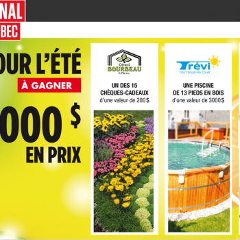lejournal quebec jpg 350x350 - Concours Le Journal de Québec: 9000$ en prix à gagner!