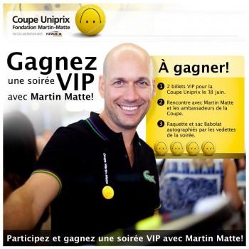 martin matte concours 350x350 - Concours Fondation Martin Matte: Gagnez une soirée VIP avec Martin Matte