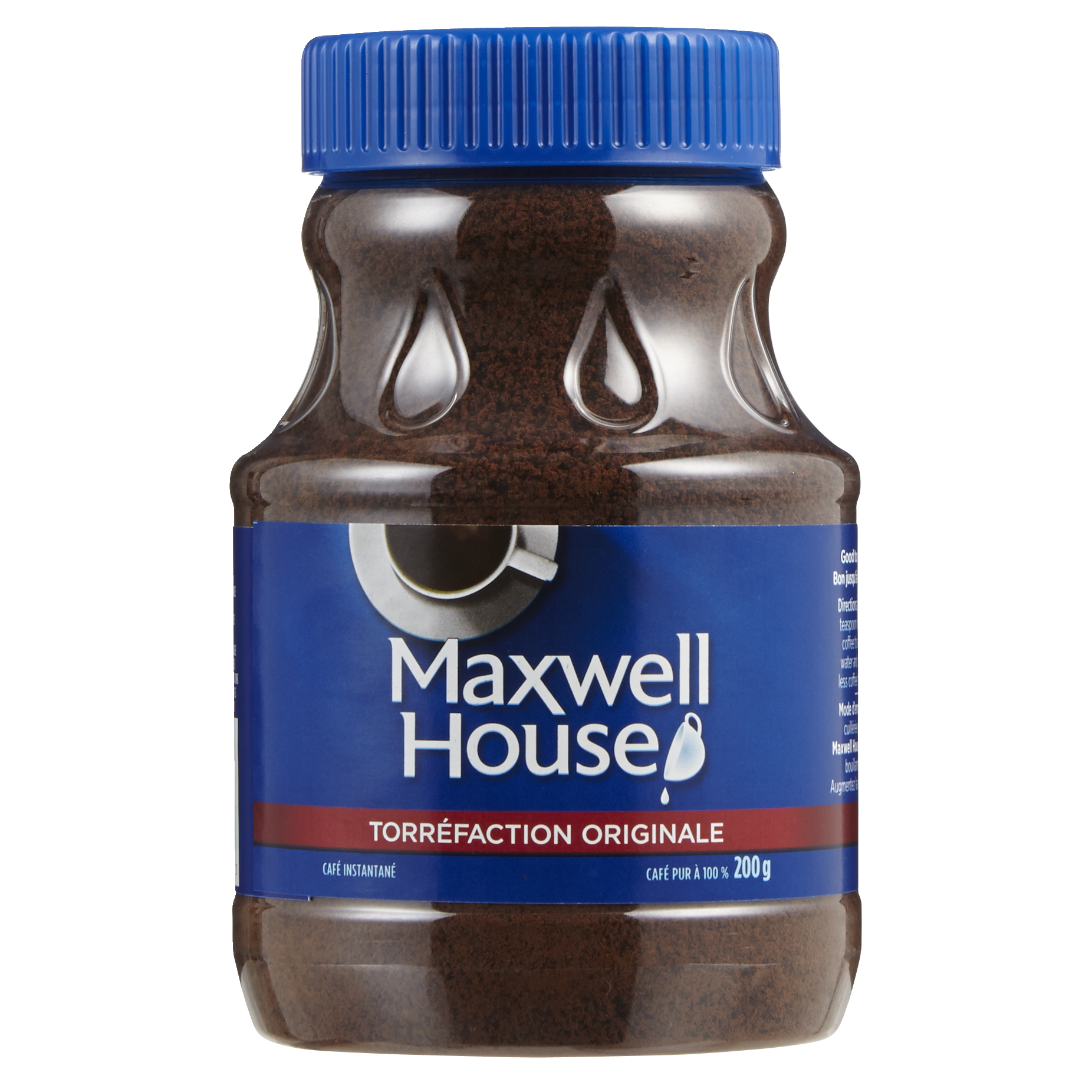 maxwel house - Café instantanée Maxwell House à 2$ au lieu de 5.48$