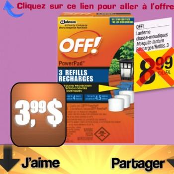 off 3 99 jpg.png 350x350 - Lanterne chasse-moustiques OFF à 3,99$ au lieu de 8,99$