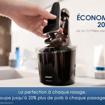 philips coupon 20dolar 350x350 - 50 en coupons rabais sur les produits Philips Pour hommes et femmes.