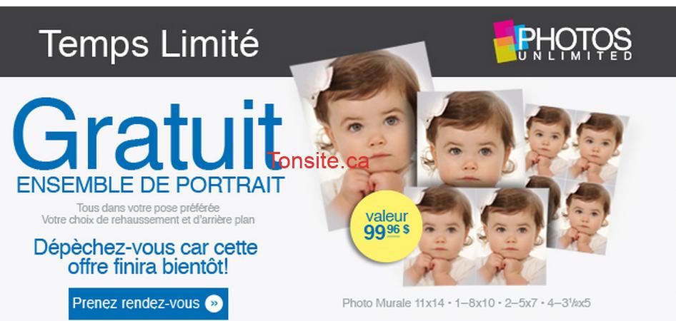 photos unlimited jpg - GRATUIT: Obtenez un ensemble de portrait gratuit (valeur de 99,96$)