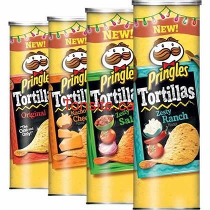 pringles - Croustilles Pringles à 96¢ au lieu de 2.25$