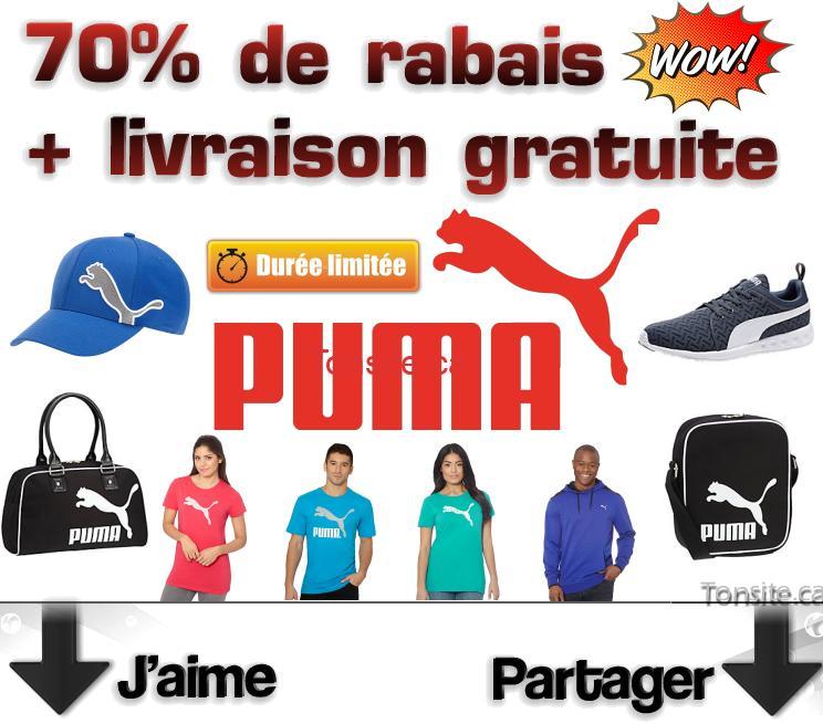 puma promo jpg - PUMA: Obtenez jusqu'à 70% de rabais + livraison gratuite