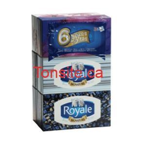 royale - 6 boîtes de mouchoirs Royale (3 épaisseurs) à 2,99$ au lieu de 5,49$