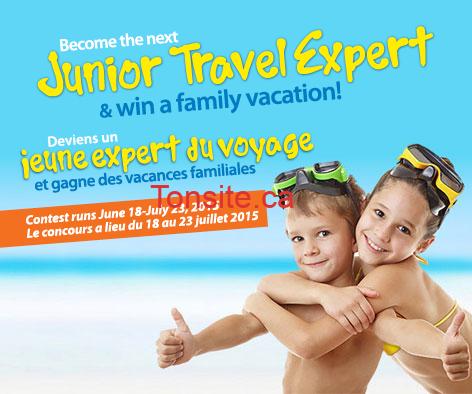 sunwing jeune expert voyage - Concours Sunwing: Gagnez 1 des 3 forfaits vacances à un hôtel de la collection pour familles de Sunwing