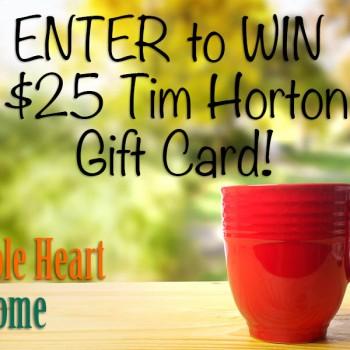 wholehearthone 350x350 - Concours Whole Heart & Home: Gagnez 1 des 4 cartes-cadeaux de 25$ de Tim Hortons