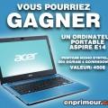 580FR 120x120 - Concours Enprimeur: Gagnez un ordinateur portable Aspire E14 d'Acer