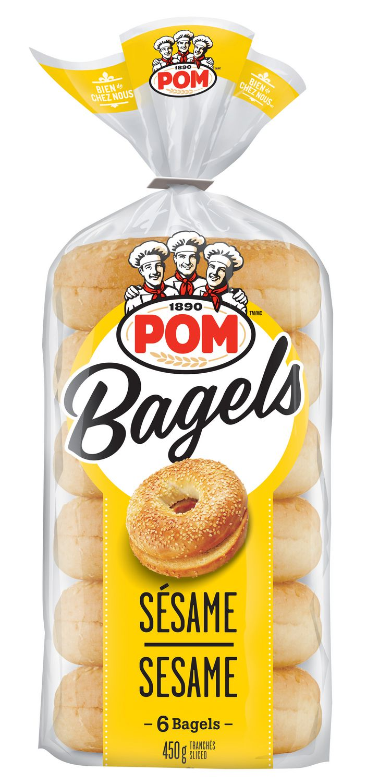 BAGELS POM - Bagels tranchés POM à 49¢ au lieu de 2,49$