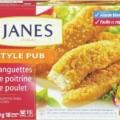 JANES 680G 120x120 - Languettes de poitrine de poulet Janes à 4,99 au lieu de 9,99$