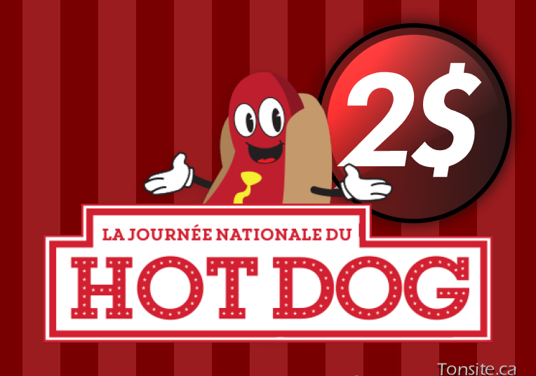 cineplex hotdog - Hot-Dog classique à 2$ seulement chez Cineplex