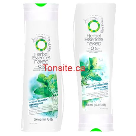 herbal essences1 - Shampoing ou revitalisant Herbal Essences à 1,24$ au lieu de 3,98$
