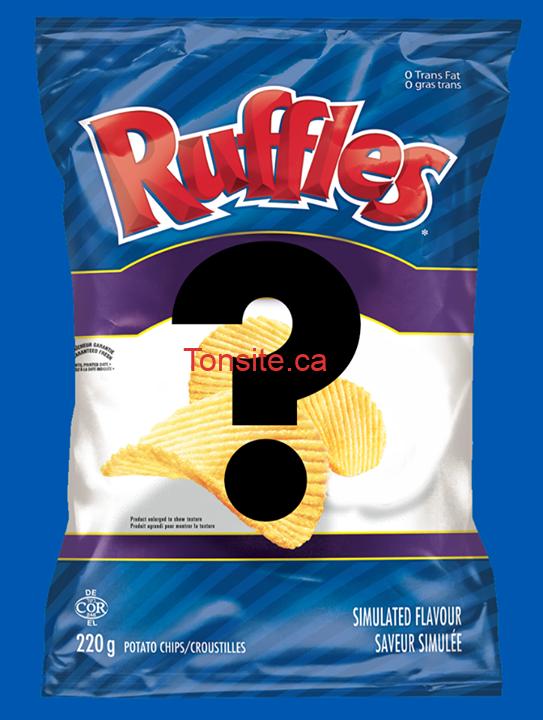 ruffles concours - Concours Ruffles: Gagnez un approvisionnement de croustilles Ruffles digne de partys