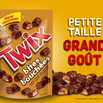 twix 350x350 - GRATUIT: Obtenez un sac gratuit de bouchés de chocolat Twix