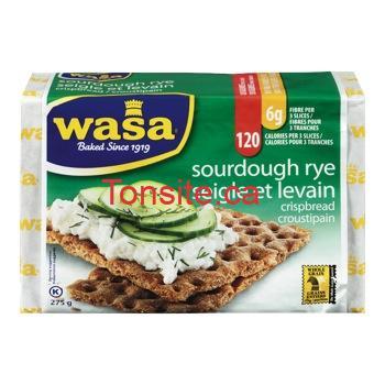 Pain croustillant Wasa à 1,75$ au lieu de 2,99$