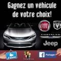Concours Chrysler Canada: Gagnez un véhicule 2016 de votre choix!