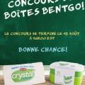 Concours Crystal Margarine: Un ensemble tout-en-un de contenants empilables Bentgo pour boîtes à lunch et un tablier Crystal en lin épais