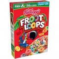 Céréales Froot Loops de Kellogg's à 2.47$ au lieu de 4,99$
