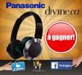 Concours Divine: Gagnez le nouveau casque d'écoute sans fil haut de gamme de Panasonic!