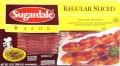 Bacon tranché Sugardale (375g) à 2.50$ seulement!