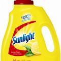 Détergent à lessive Sunlight (64 brassées) à 4.97$ au lieu de 12.97$