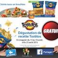 Dégustation de recettes Tostitos gratuit