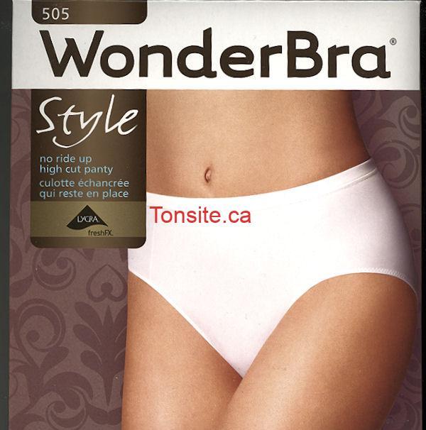 Photo of Culottes Wonderbra à 5$ au lieu de 16,94$ (70% de rabais)