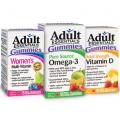 Coupon rabais de 2$ sur les vitamines gélifiées Adult Essentials