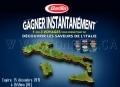 Concours Barilla: Gagnez instantanément 1 des 3 voyages pour 4 personnes en Italie (valeur de 13.000$)