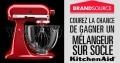 Concours Brandsource: Gagnez 1 des 50 mélangeurs sur socle KitchenAid