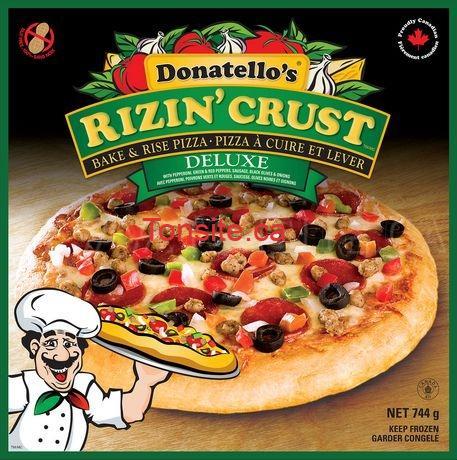 Pizza surgelée Donatello's à 2,67 seulement