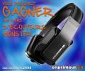 Concours Enprimeur: Gagnez une paire d'écouteurs Monster