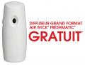 Obtenez un diffuseur grand format Air Wick Freshmatic GRATUIT