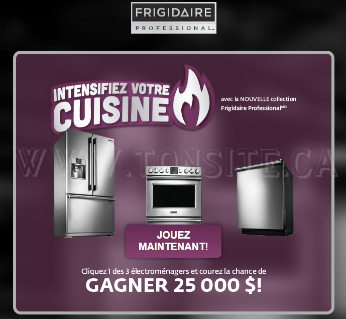 Frigidaire discount coupons