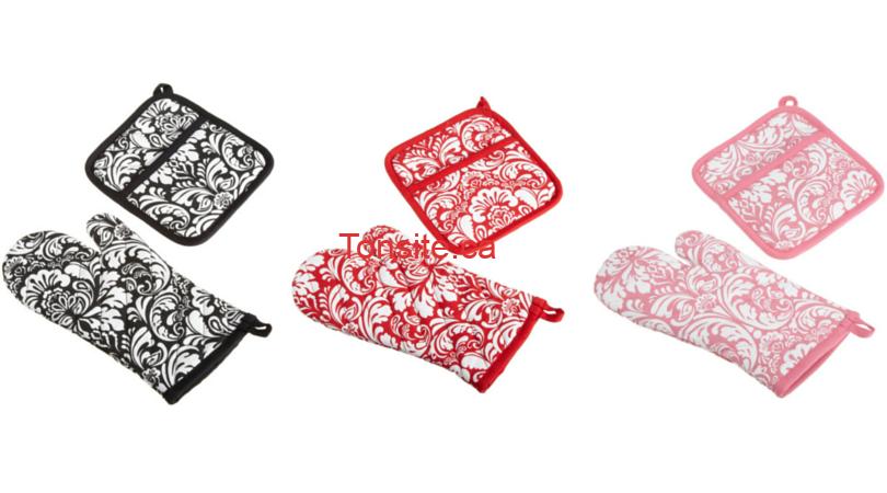 GRATUIT: Obtenez une manique et un gant pour le four GRATUITEMENT!