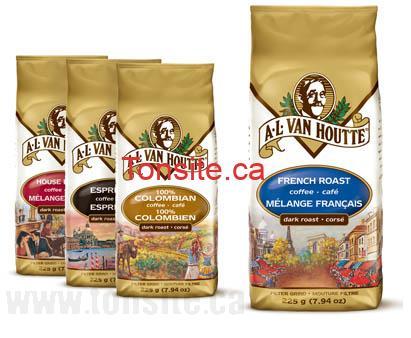 vanhoutte 1 1 - Coupon rabais de 3$ à l'achat de café Van Houtte (225g et plus)